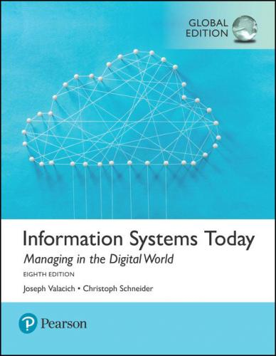 Information Systems Today Managing in the Digital World 8/E(少量進口書恕不贈送!)